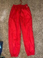 Men's Champion red windbreaker XL pants