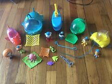 Octonauts Playset Fisher Price Classic Vehicles Figures Accessories Nice Toy Lot