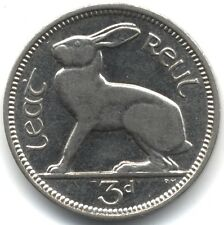 More details for 1940 proof-like ireland threepence | pennies2pounds