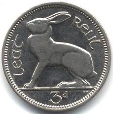 1940 Proof-Like Ireland Threepence***Collectors***High Grade***