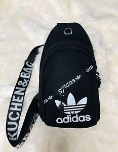 ADIDAS SLING Bag one shoulder BACKPACK Color Black