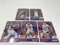 lot of 5 2020 prizm basketball draft picks purple wave Udoka Azubuike Rookies