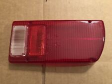 Lotus Europa S2, TC, Special, Elan S4, Tail Light Lens - NOS  L807 Red/Clear