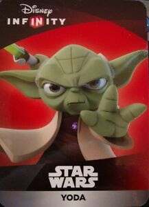 Disney Infinity 3.0 Star Wars Yoda Web Code Card
