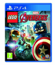 LEGO MARVELS AVENGERS - PLAYSTATION 4 - NEW SEALED - SAME DAY DISPATCH