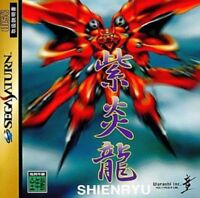 Sega Saturn SHIENRYU From Japan Japanese Game