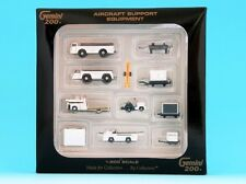 GeminiJets 1/200 G2APS451 Boxed Set 10 Pieces of Airport Support Equipment