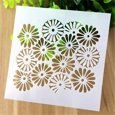 Cherry Blossoms Pattern Layering Stencil Template DIY Scrapbooking Home Decor ♫