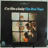 The Box Tops-Cry Like A Baby-1968  Bell Records #BELL-6017 Rock Vinyl LP - VG+