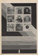 Bob Marley Betty Davis Trade Press Advert 1975/6