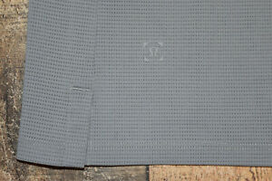 Lululemon Pique Mesh Golf Polo Shirt Men's Size Large Gray Open Collar EUC B31