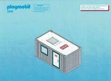 Playmobil Bauanleitung 3260 Baucontainer