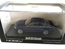 Audi A5 Coupé 2012 - Blue Metallic 1:43 NOREV DIECAST MODEL CAR