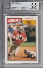 1987 Topps #115 Jerry Rice BGS 8.5 49ers 1881