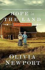 Amish Turns of Time: Hope in the Land 4 by Olivia Newport (2016, Paperback)
