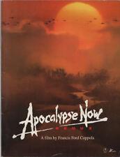 Apocalypse Now Redux Japanese Souvenir Program 2002, Francis Ford Coppola