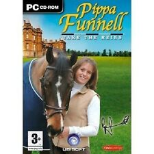 Pippa Funnell Take the Reins (PC CD) w/ Autobiography, NEW, Free USPS Shipping