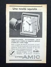 C687 - Advertising Pubblicità- 1953 - SVEGLIA AMIC BREVETTO CYMA