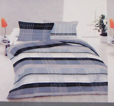 Designer Selection Grey Tone Print Queen Bed Quilt Cover Set New
