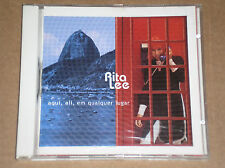 RITA LEE (BEATLES COVERS) - AQUI, ALI, EM QUALQUER LUGAR - CD COME NUOVO (MINT)
