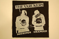 Varukers Cloth Patch (CP19) Punk Rock Adicts Subhumans Dead Kennedys Vice Squad
