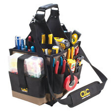 Custom Leathercraft CLC 1528 - 23 Pocket Large Electrician Tool Box Bag Carrier
