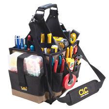Custom Leathercraft CLC 1528 - 23 Pocket Large Electrician Tool Box Bag Carrier