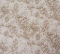 """1 yd 20"""" Full Moon James Meger Quilting Treasures Ivory Taupe Snowy Grasses"""