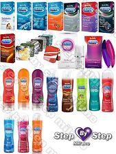 Preservativi Profilattici DUREX in scatola 6 e 12 pz - Gel Lubrificanti Intimi
