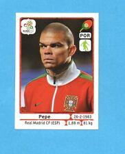PANINI-EURO 2012-Figurina n.261- PEPE - PORTOGALLO -NEW-WHITE BOARD