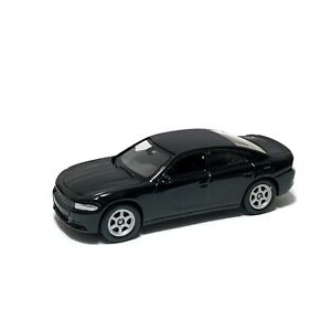 """2016 Dodge Charger R/T Black Welly 1:60 1:64 No. 52364 3"""" inch Toy Car Model"""