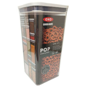 OXO Good Grips Food Storage Container Plastic 5.7 Litre Air Tight 32cm Tall