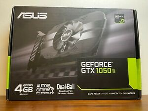 Asus PH-GTX1050TI-4G GeForce GTX 1050 Ti 4GB Phoenix Fan Edition Graphics Card