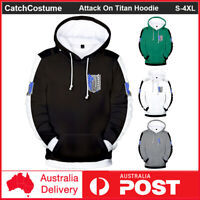 Anime Attack On Titan Hoodie Pullover Scouting Legion Cosplay Sweatshirt Coat