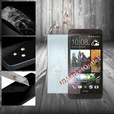 Tempered Glass Screen Protector Oleophobic Anti Scratch fit HTC One M7