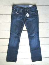 Diesel Indigo, Dark wash Straight Leg Low Jeans for Women