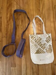 lululemon yoga mat strap With Tote Shopping Bag