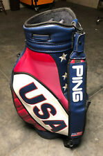 Ping Usa Ryder Cup Staff Bag Rare Limited Edition Stars and Stripes