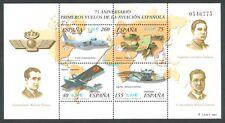 ESPAÑA - AÑO 2001 -  EDIFIL 3790** - HOJITA BLOQUE AVIACIÓN - MNH