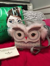 KATE SPADE NEW YORK STARBRIGHT OWL LEATHER TOP HANDLE SATCHEL BAG, NWT!