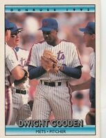 FREE SHIPPING-MINT-1992 Donruss New York Mets Baseball Card #446 Dwight Gooden