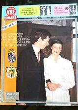 Point de Vue 19/03/1982; La princesse Grace préside le Bal de la Rose/ Diana