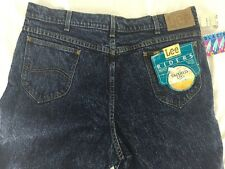 NWT Vintage Lee jeans Union Made 40x34 New Glacier Wash tapered leg stonewash