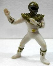 "POWER RANGERS MIGHTY MORPHIN ""WHITE"" plastica cm. 5,5 SABAN 1994"