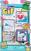 OH! MY GIF 3 Toy Pack - Doughby & Flippy Collectable Animated Figures