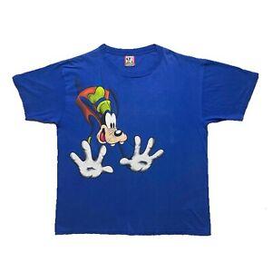 Vintage 1990s Disney Goofy t-shirt Blue Size on tag is OSFA - it fits XXL