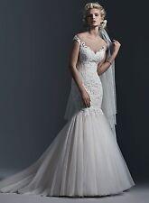 Sottero & Midgley Wedding Dress CASSANDRA Size 12 Light Gold NEW!!