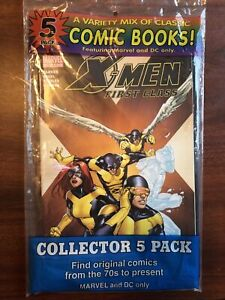 5 pack mix Variety comic pack Marvel & Dc Only