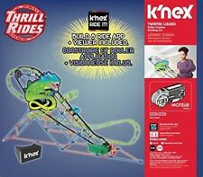 K'Nex Thrill Rides – Twisted Lizard Roller Coaster Building Set with Ride It!