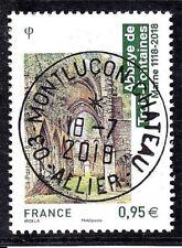 NOUVEAUTE FRANCE 2018 - Abbaye de trois fontaines (Oblitéré Beau cachet rond )